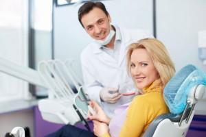 Une patiente satisfaite via Shutterstock