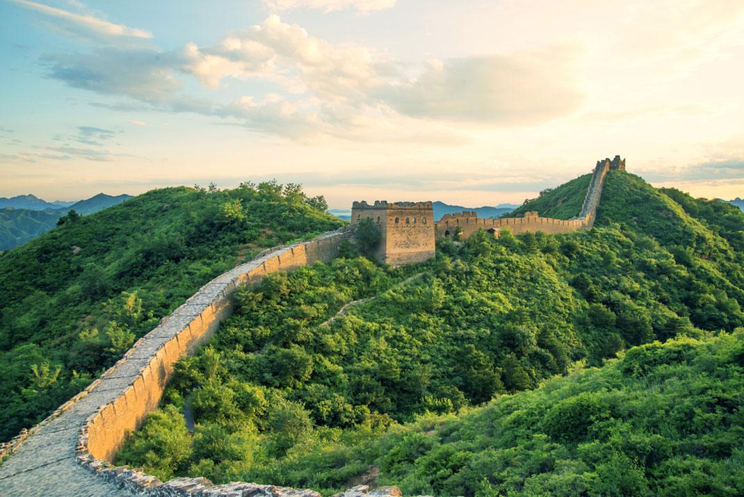 La Grande Muraille de Chine via Shutterstock