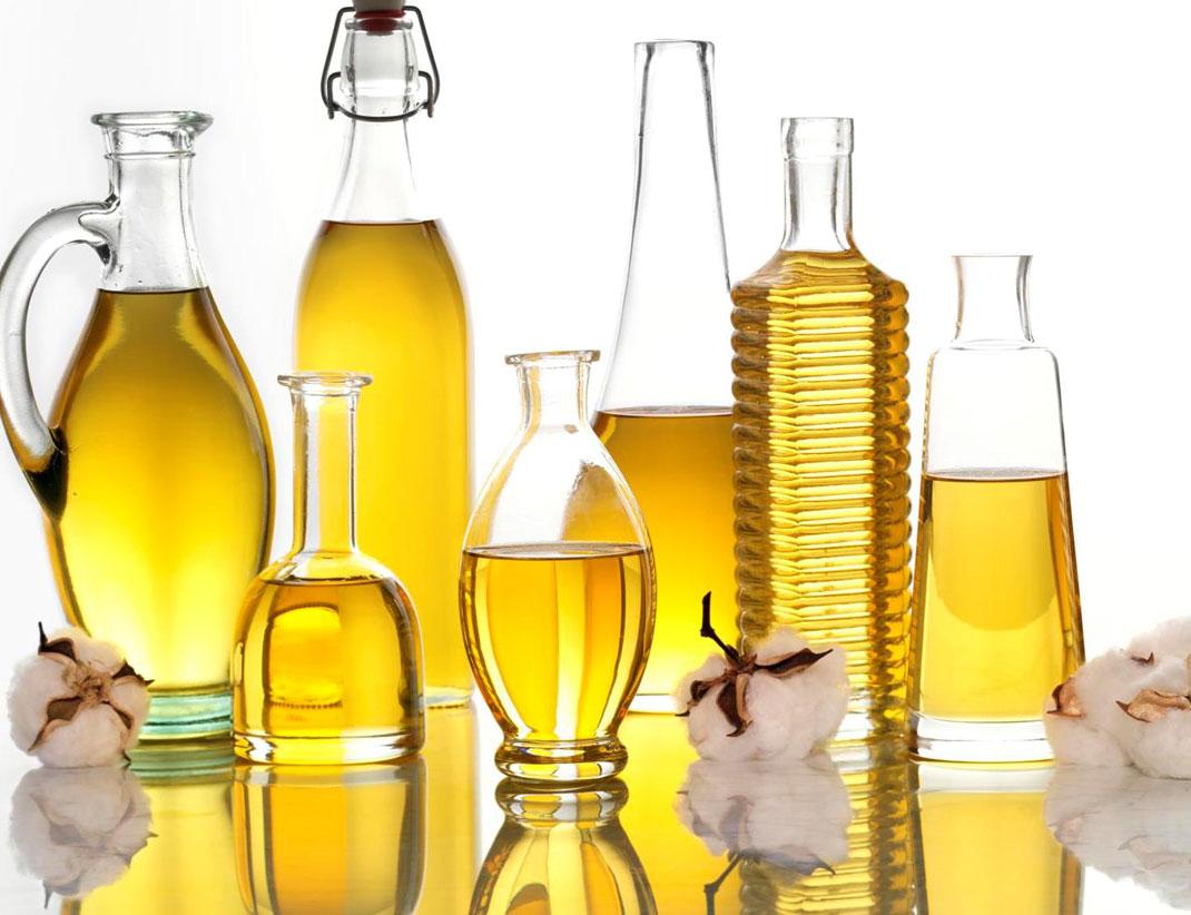 De l'huile végétale