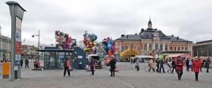La place du marché de Kuopio by J_Makk