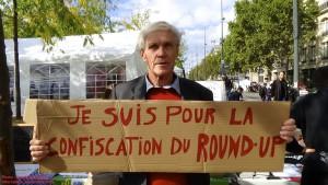 L'agronome Marc Dufumier soutenant l'interdiction de l'herbicide Roundup via Youtube