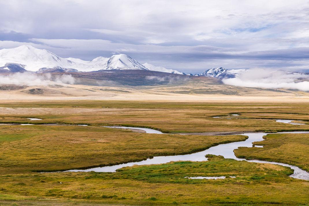 Un paysage de Mongolie via Shutterstock