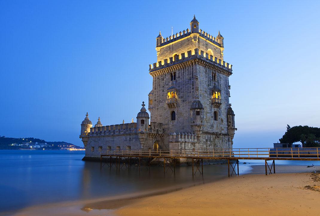 La tour de Bélem via Shutterstock