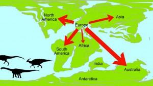 Carte-dinosaures