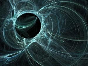 Un champ magnétique via Shutterstock
