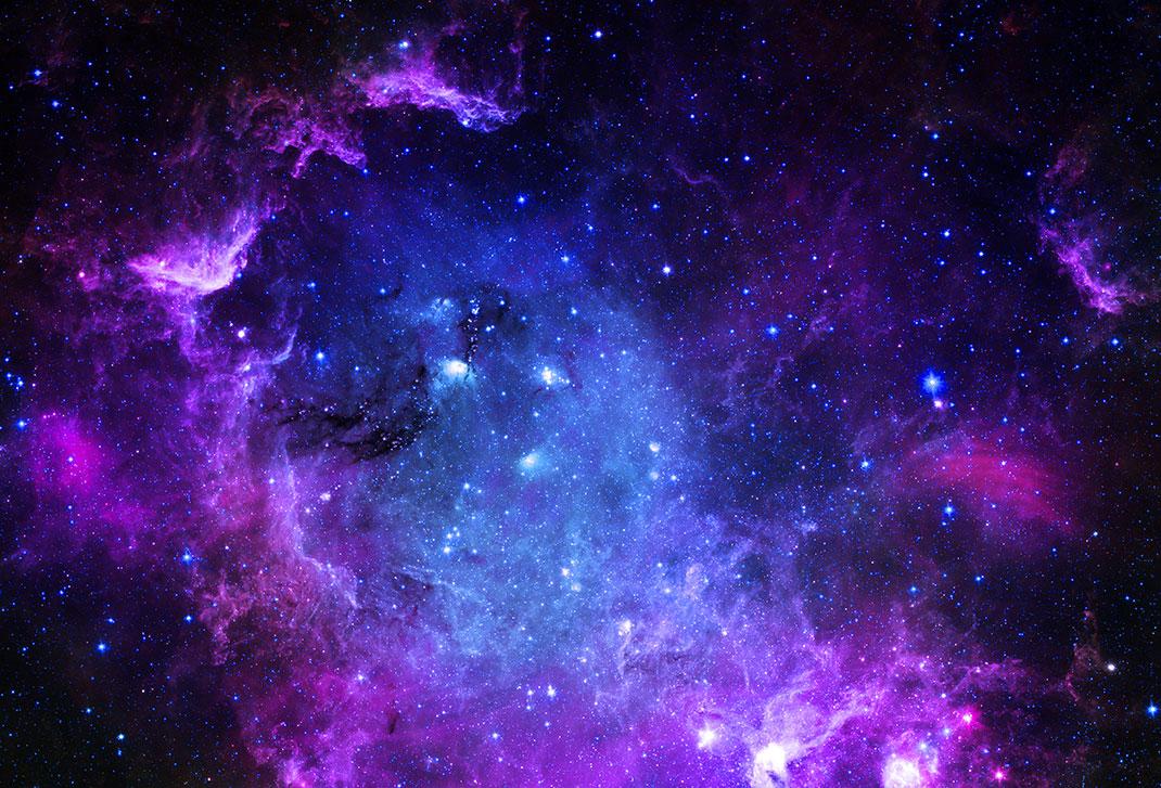 Une vue de l'espace via Shutterstock