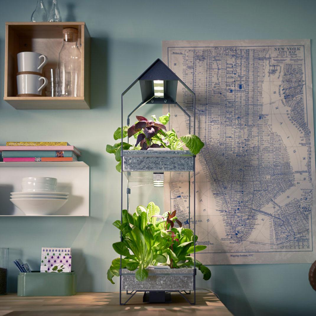 Cultivez facilement vos propres plantes en int rieur avec for Kit culture interieur