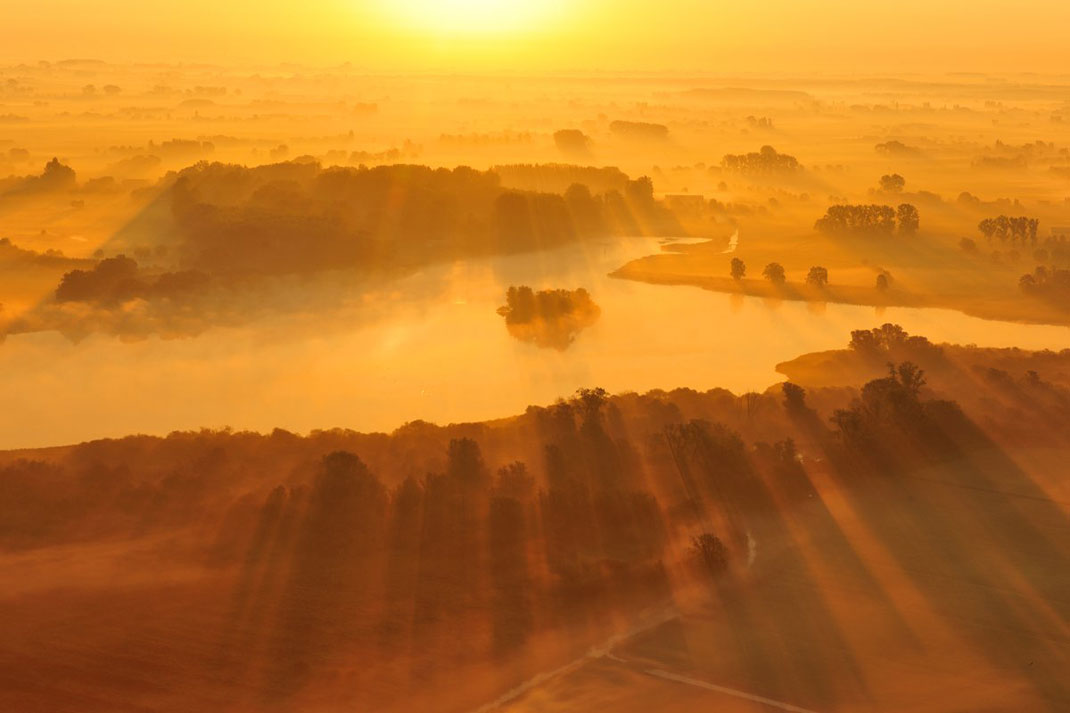 La vallée de l'Yser, fleuve belge ©Yves Adams