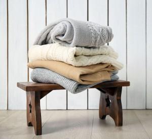 Des vêtements en laine