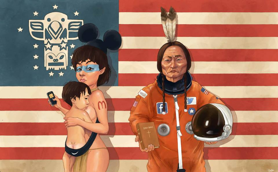 Les Amérindiens d'Etats Unis...