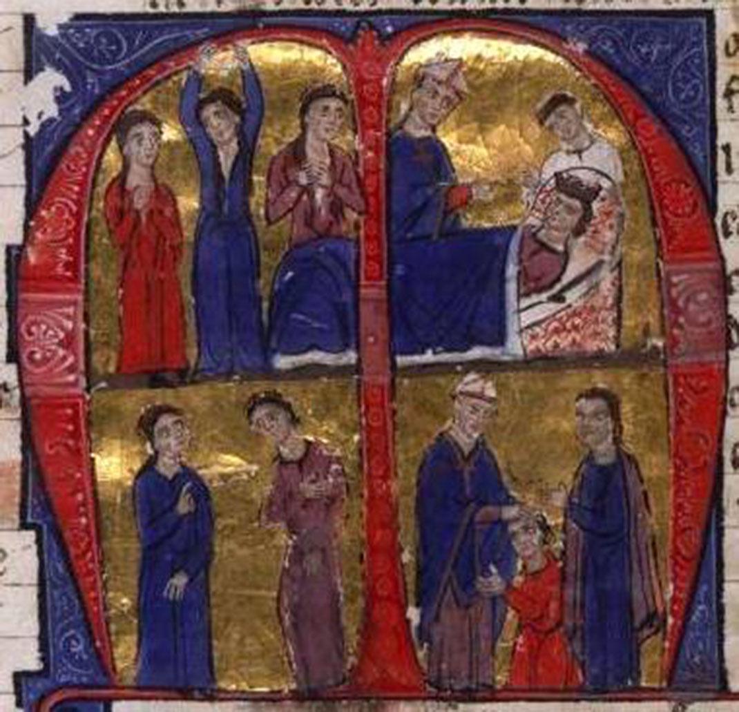La mort d'Amaury I et le couronnement de Baudouin IV