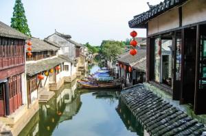 Suzhou en Chine via Shutterstock