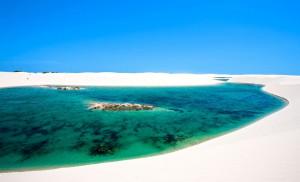 Lençóis Maranhenses au Brésil via Shutterstock