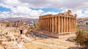 Baalbek au Liban via Shutterstock