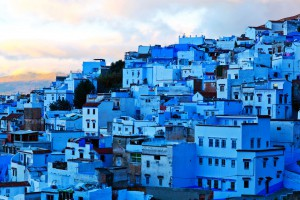 Chefchaouen au Maroc via Shutterstock