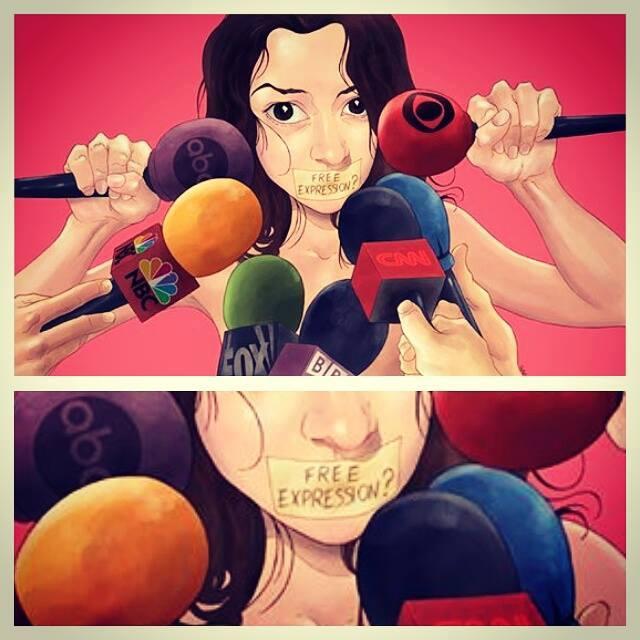 Les médias sourds face l'oppression de la liberté d'expression