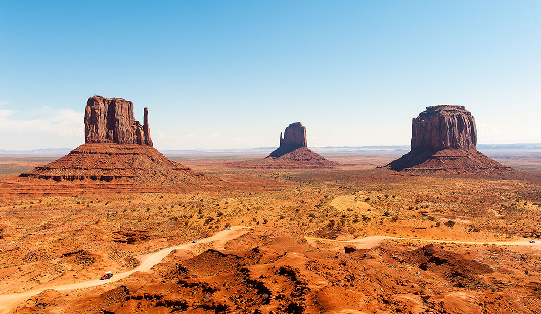 Monument Valley via Shutterstock