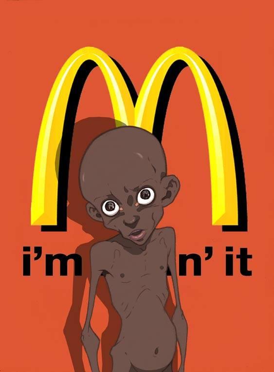 Le Mc Donald's et son obésité face à certaines population qui meurt de faim