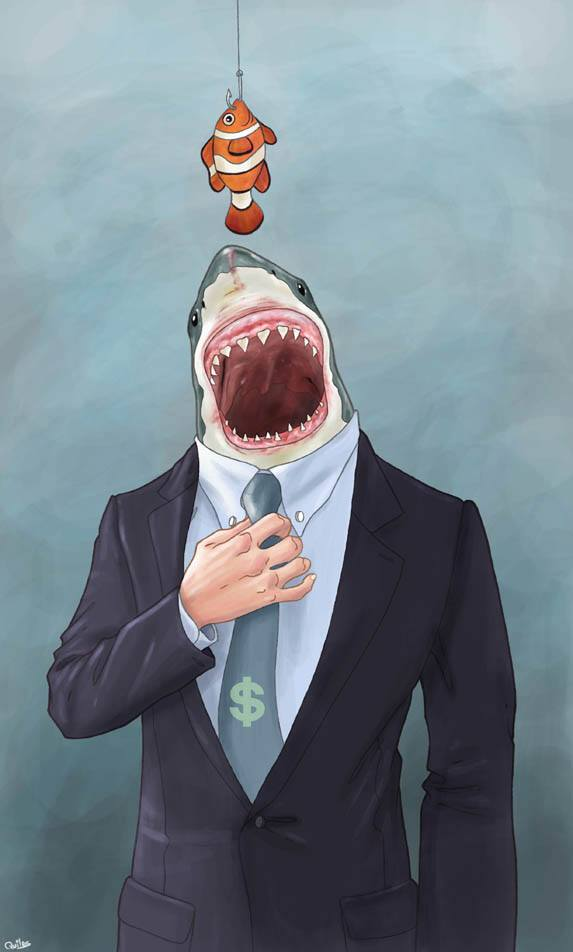 Les requins de la finance