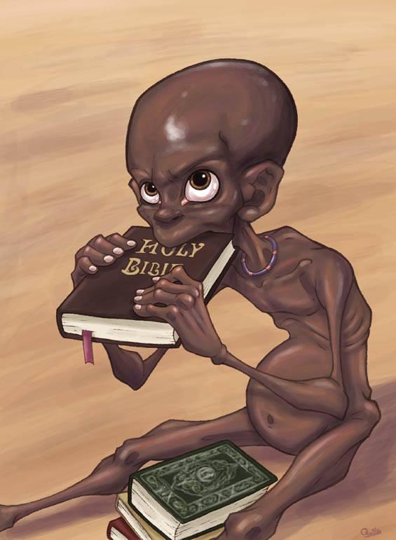 """""""Ne me donnez pas une bible, donnez-moi un sandwich"""""""