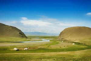 Les steppes de Mongolie via Shutterstock