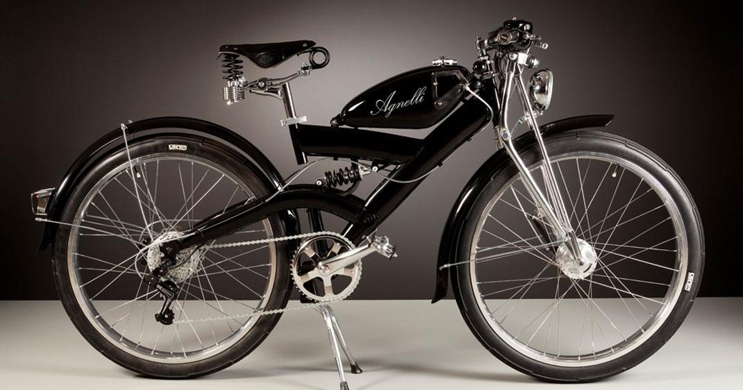 Luca élève la mécanique au rang d'art en créant des vélos électriques au charme vintage
