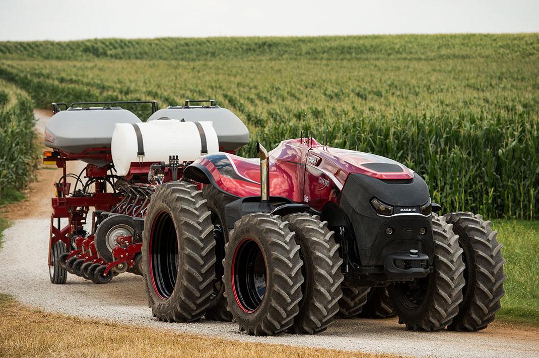 Le tracteur du futur se passera totalement de conducteur