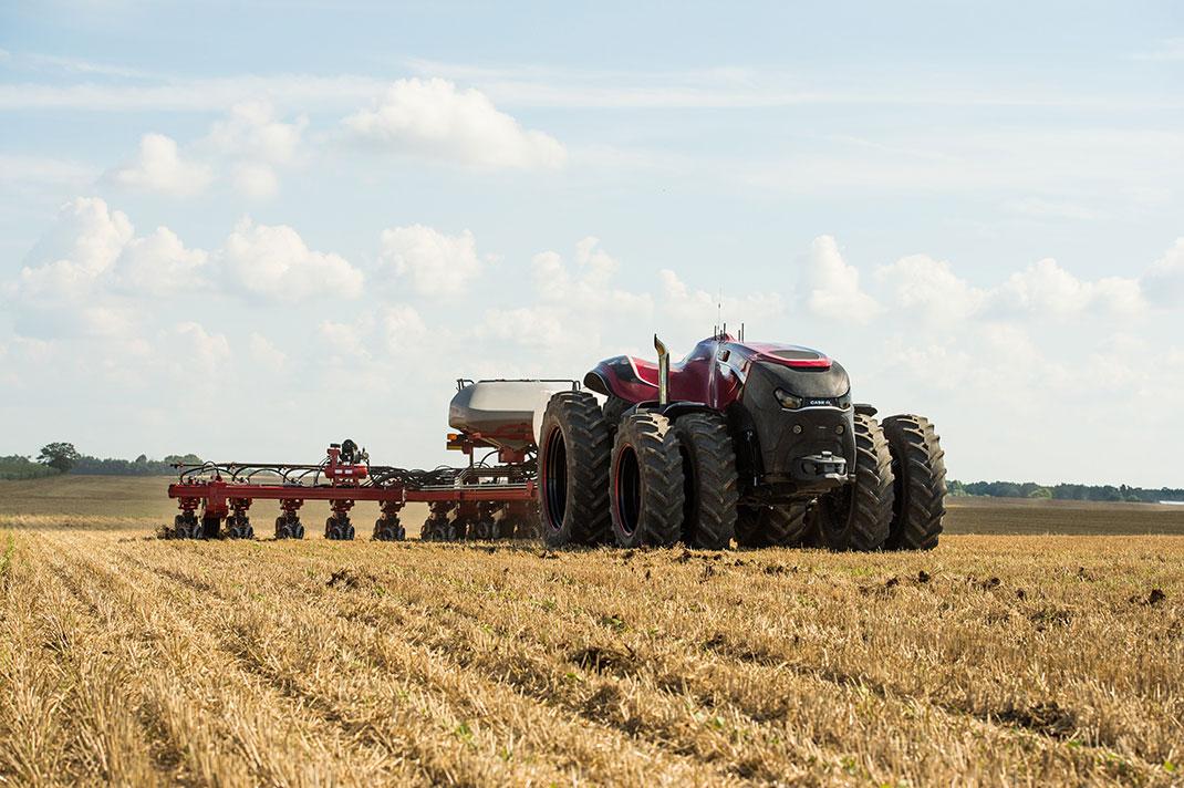 Conçu pour semer et récolter, le tracteur robot facilitera la vie des agriculteurs