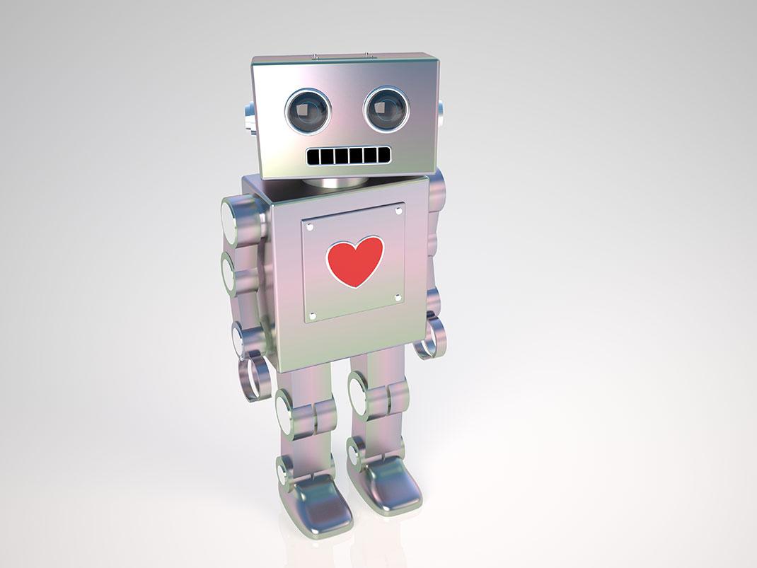 LoveBot envoie des mots doux à votre place via Shutterstock
