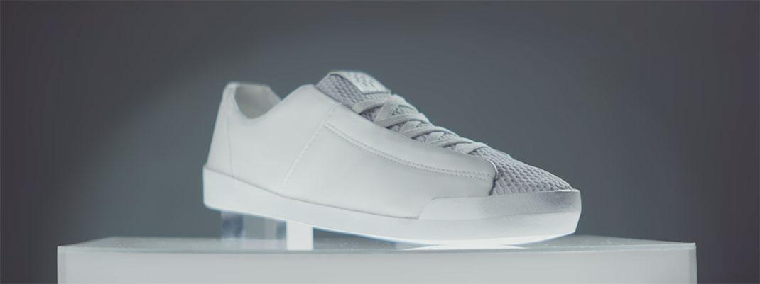 The shoe without a footprint est produite a partir de CO2 recyclé