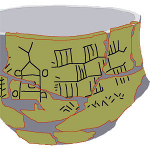 Le bol de Boronice, qui met en doute la primauté sumérienne