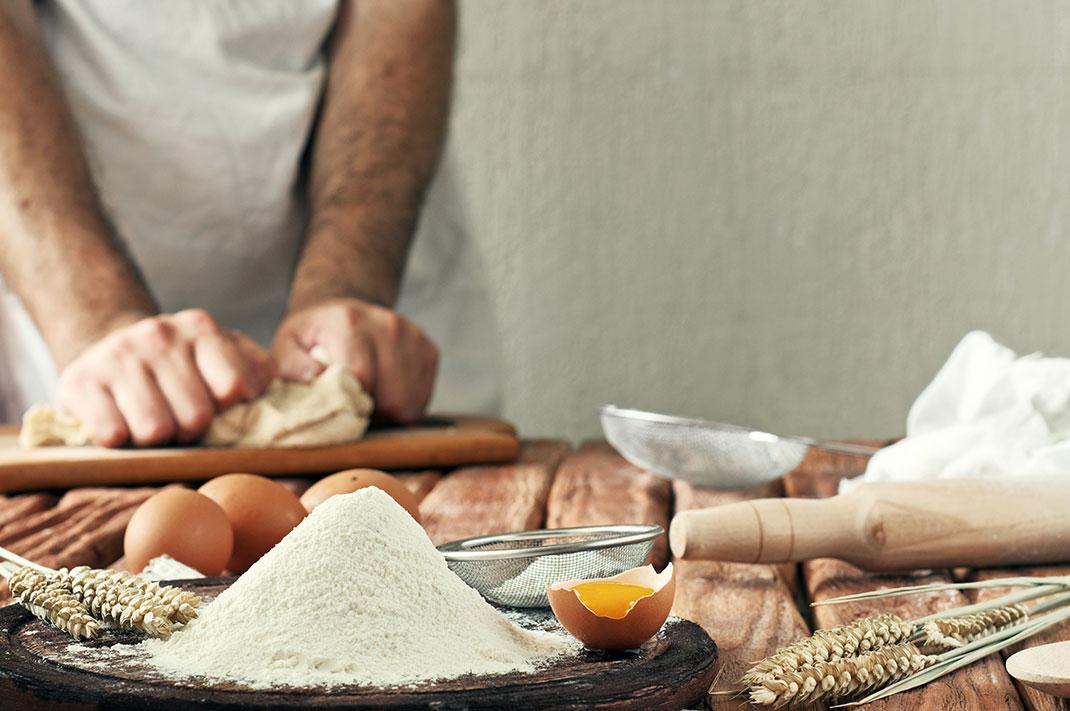 Leur pain est fabriqué à partir de farine certifiée AB, mais ils ne peuvent communiquer dessus via Shutterstock