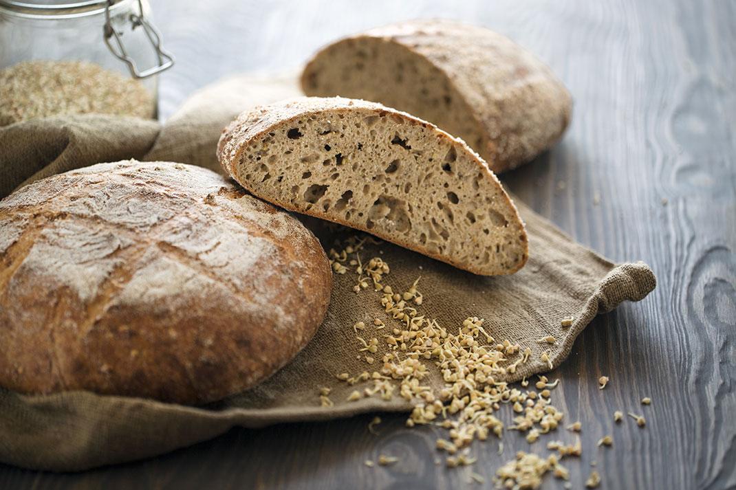 Le pain au levain risque de faire condamner la boulangère via Shutterstock