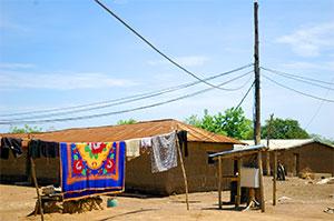 LE réseau électrique Du village d'Igbérè - ©Power:On