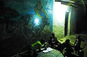 L'heure des devoirs à Igbérè ©Power:On