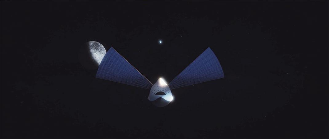 Le vaisseau de transport pour Mars sera doté de panneaux solaires
