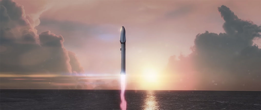 L'Interplanetary Transport System de SpaceX