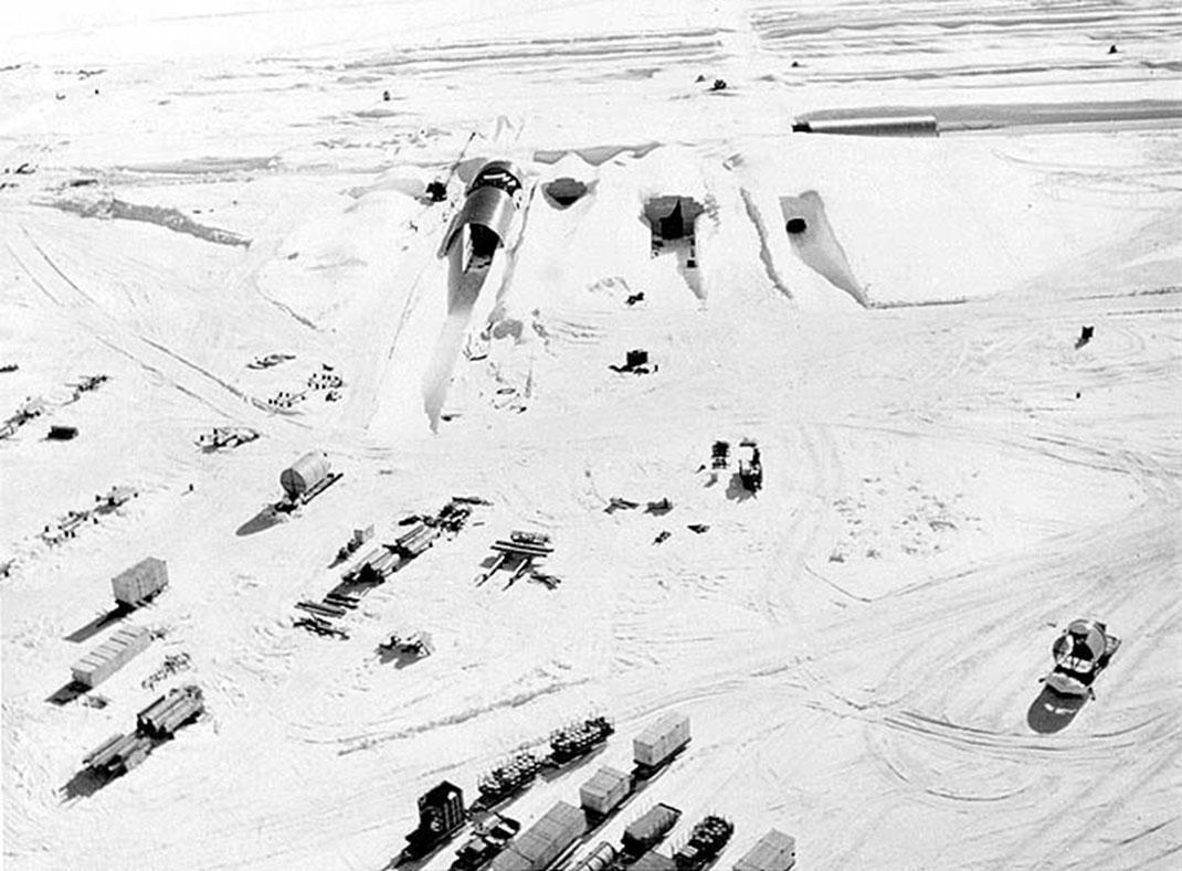 Camp Century a été construit en 1959 par l'armée américaine