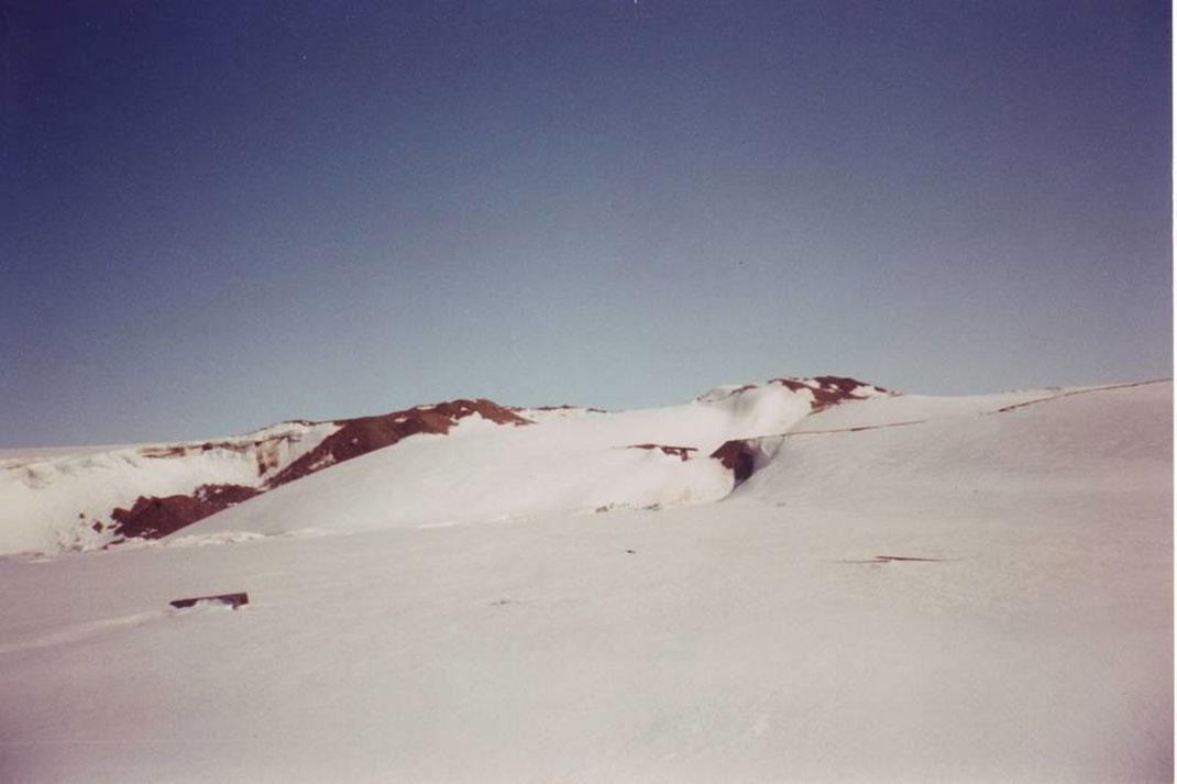 Camp Century a été creusé au Groenland