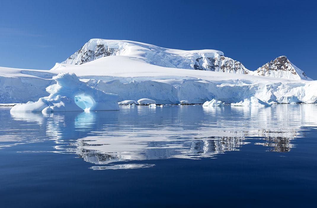 Les conséquences du changement climatique au Groenland via Shutterstock