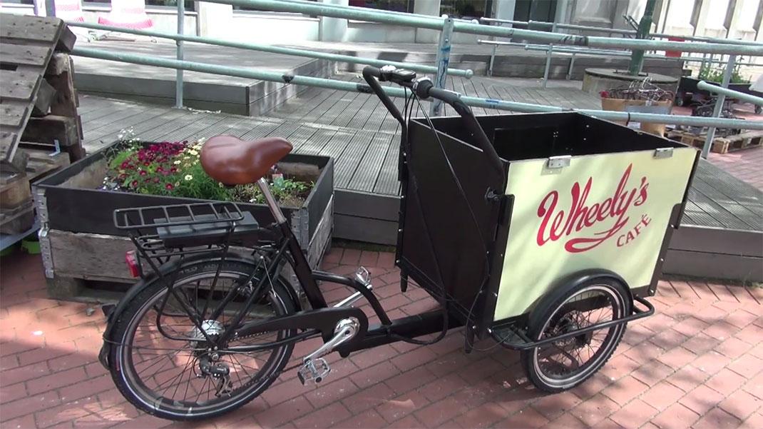 Il sera possible de garer un vélo cargo devant le frigo pour y ranger directement les courses