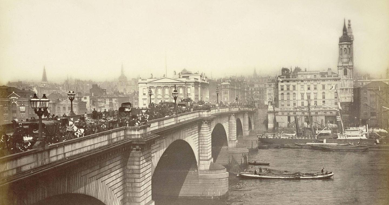 Londres à la fin du XIXe siècle