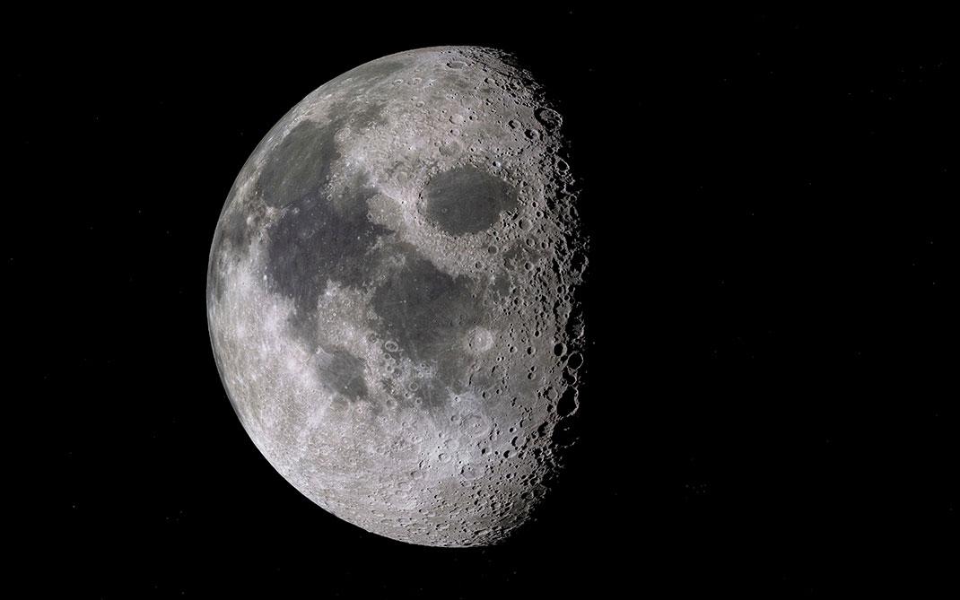La formation de la Lune serait due à une collision d'une extrême violence entre la Terre et un autre astre