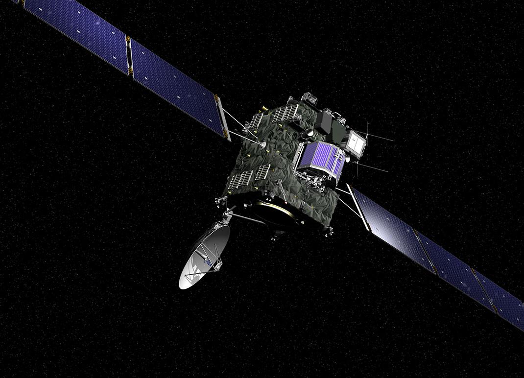 Rosetta a survolé la comète Tchoury pendant deux ans pour l'étudier