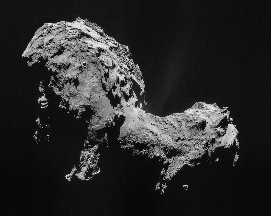 La comète Tchoury pourrait nous en apprendre plus sur la naissance de la vie sur Terre