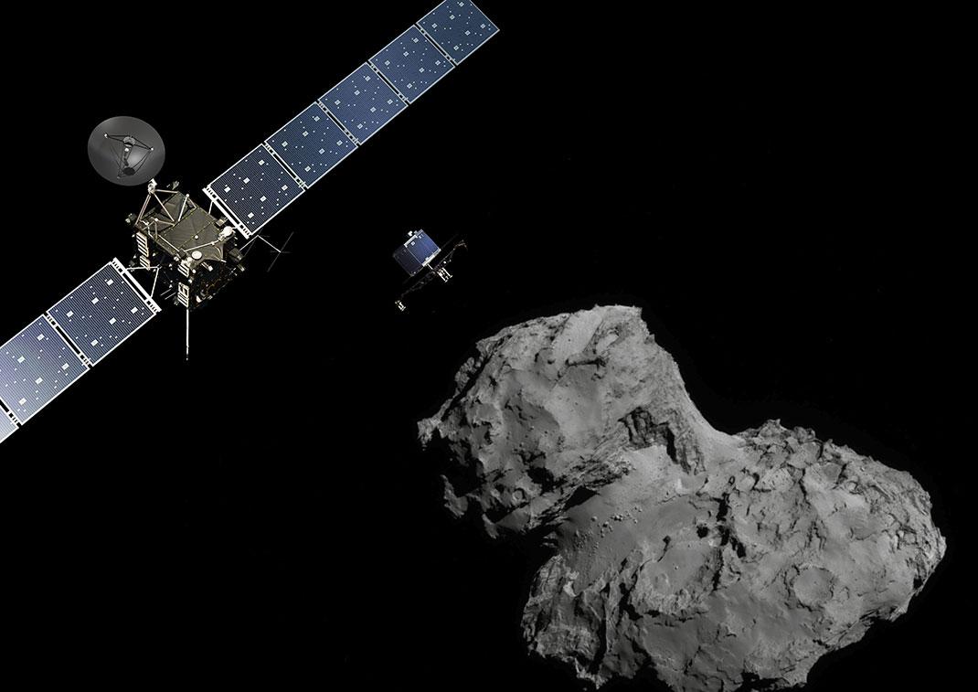 Rosetta a rejoint sa comète pour l'éternité après 12 ans de voyage
