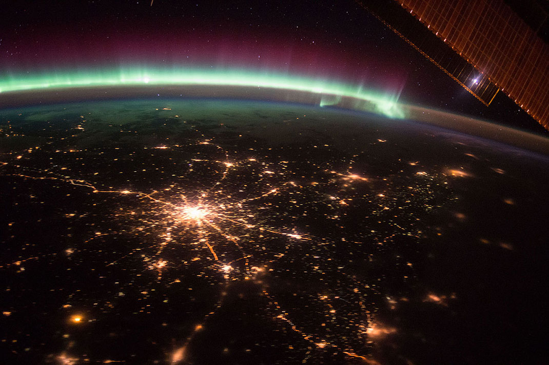 Vue de la Terre depuis l'ISS