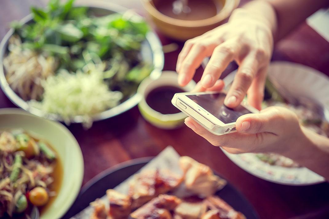 L'application vous permet de manger des produits de bonne qualité à moitié prix via Shutterstock