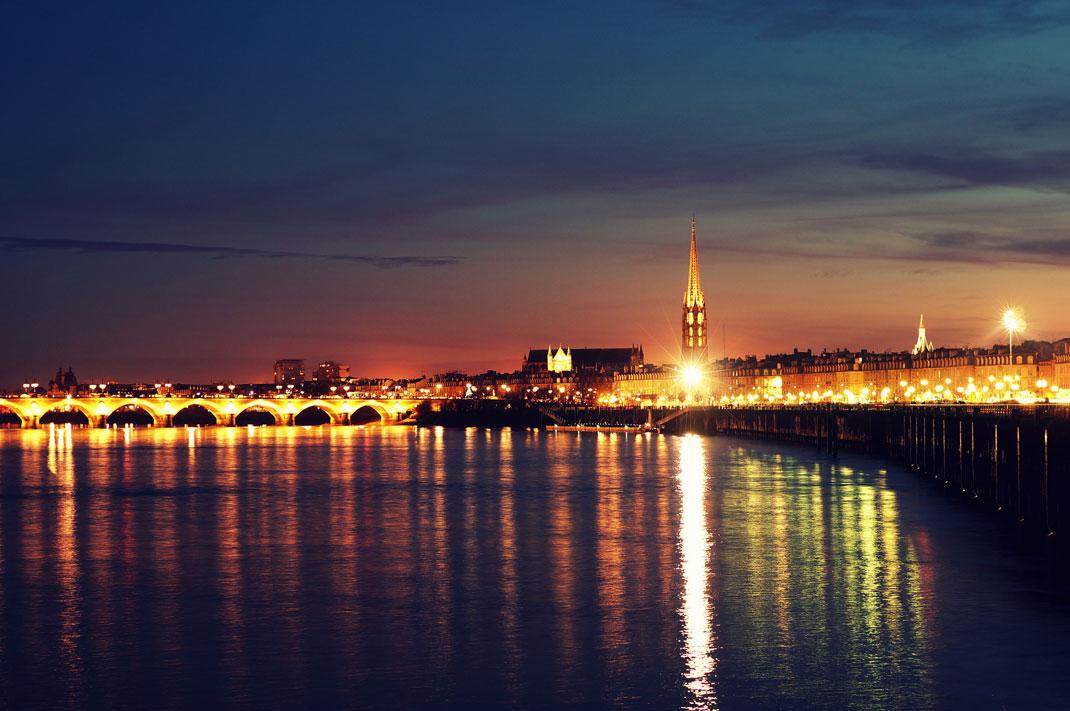 Bordeaux sur la Garonne
