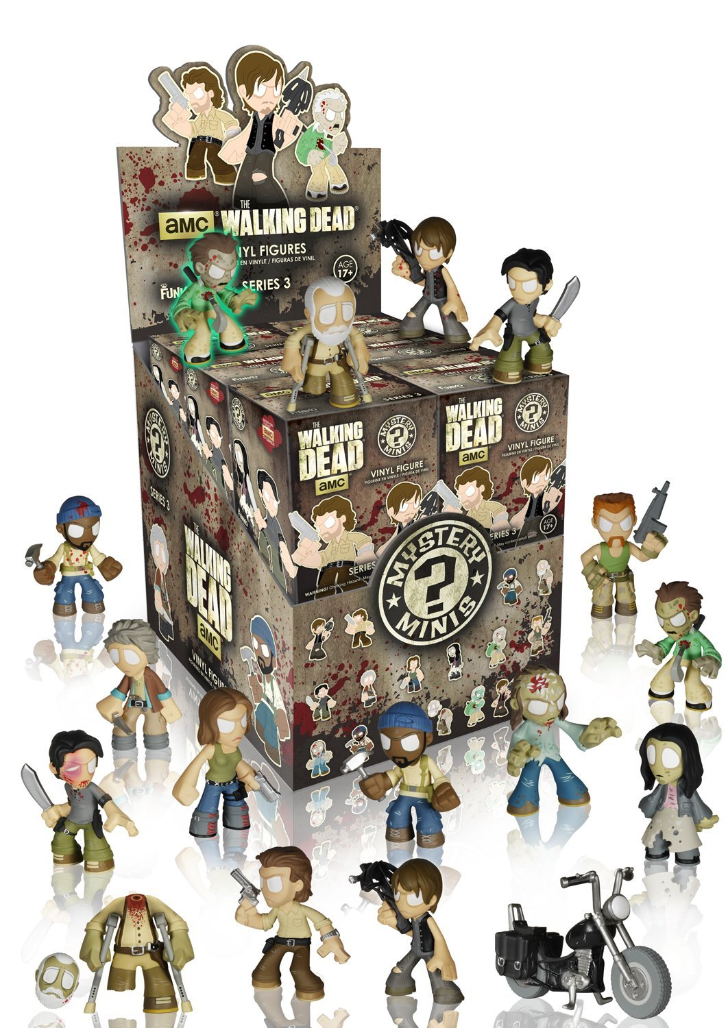 4-figurines-walking-dead